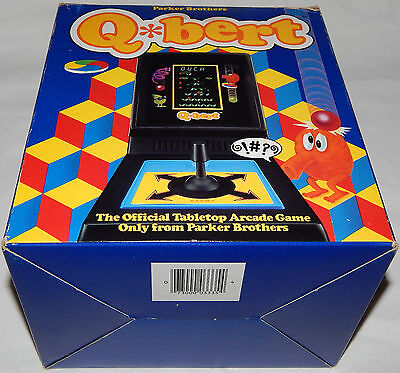 **vintage 1983 Qbert Lsi Tabletop Parker Brothers Gottlieb &/and Co In Box/boxed