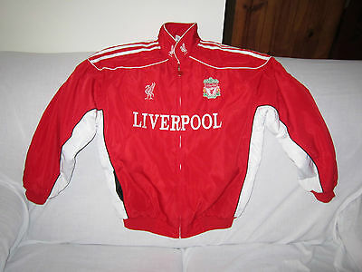 Liverpool Fc Zip Up Jacket Youth Size 2Xl/mens Small