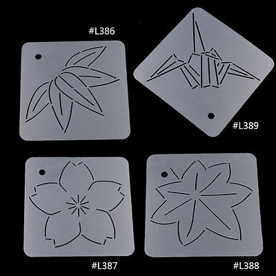 Quilt Template Patchwork Tools DIY Craft Stitch Sewing Bamboo Leaf Papercranes