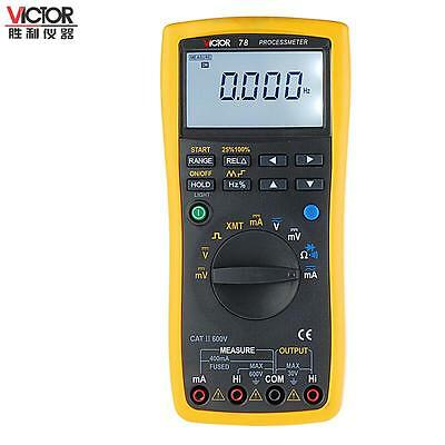 VICTOR 78 Process multimeter / Calibrator Meter Multifunctional Signal Loop VC78