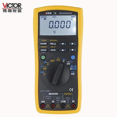 VICTOR 79 Process multimeter / Calibrator Meter Multifunctional Signal Loop VC79