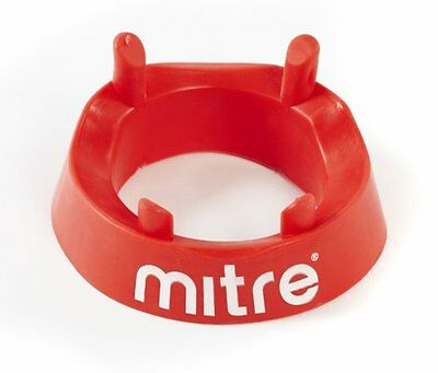 Mitre Rugby Kicking Tee Red One Size Training Sporting Goods Fitness Strength
