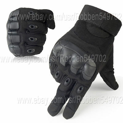 Airsoft Military Tactical Gear Cycling Outdoor Hard Knuckle Full Finger Gloves