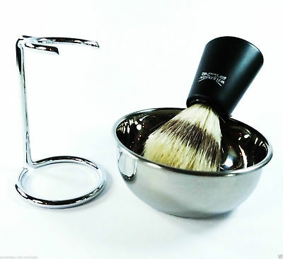 Shaving Brush & Shaving Bowl..shaving Stand Sets  With Fast And Free Postage