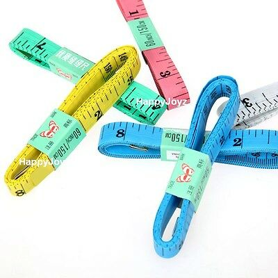 1.5 M Tailor Body Measure Tape Flexible Soft ruler Sewing Tape measurement sew