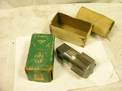 Vermont Pipe Tap 2 inch National Pipe Thread carbide steel NIB