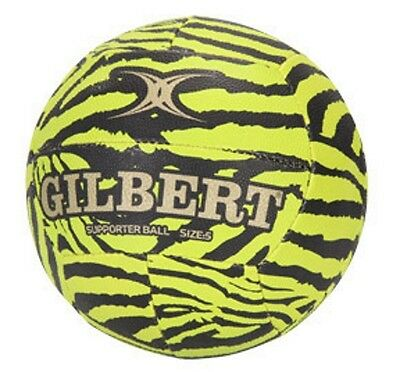 Gilbert Glam Green Zebra Netball [Size 4] + FREE AUS DELIVERY