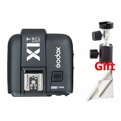 Hot Godox X1T-C 2.4GHz E-TTL Wireless Single Transmitter Trigger For Canon EOS
