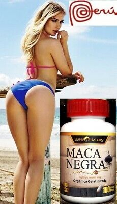 Maca 2X120Tabx500Mg Mas Gluteos Senos Increase Breast Buttocks Plus Fesses Seins