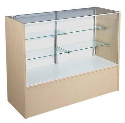 """New Retail Economy Maple 70"""" Full vision showcase with light"""