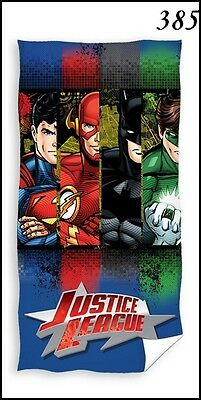 Kinder Duschtuch Badetuch 70x140 385 Justice League