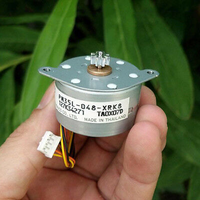 NMB 35MM PM35L Round Thin 2-phase 4-wire Stepper Motor Stepping Motor 7.5°/Step