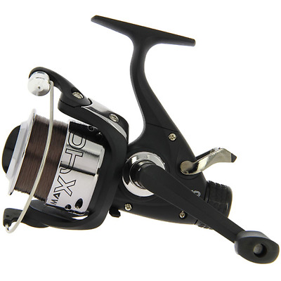 3X EG40 Carp Bait Free Running Fishing Reels Comes With 10lb Line NGT Tackle