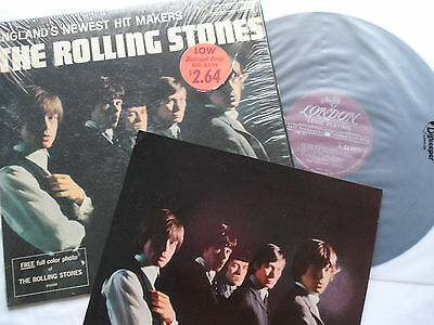 ROLLING STONES 1964   EARLIEST 1st PRESS    SHRINK + PHOTO  Newest Hitmakers LP