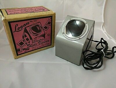 Logan Magnaview No 210 Electric Table Slide Viewer