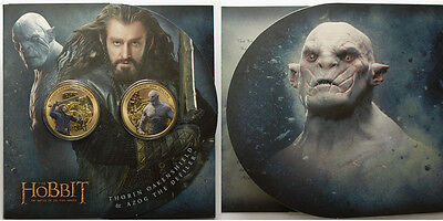 Nz: 2014 The Hobbit, The Battle Of 5 Armies Uncirculated Coin Set