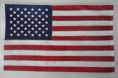 The Fat Lady American Flag 3x5 : Embroidered Stars, heavyweight nylon, US flag