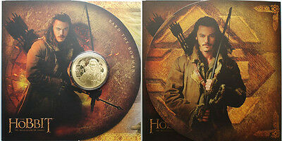 New Zealand 2013 The Hobbit The Desolation Of Smaug Uncirculated $1 Dollar Coin