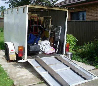 Trailer $30 a Day Hire or Rent 10x4x5 ft Enclosed Bike Box Motorcycle Transport