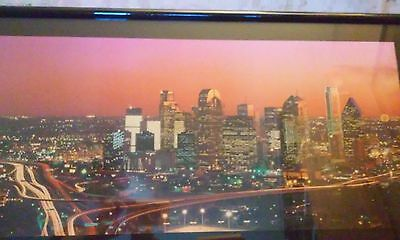 20 X 30 Framed Dallas Picture - Jerry Driendl Photography