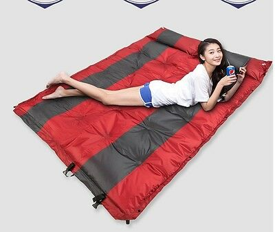 Self Inflating Mat Sleeping Air Bed Mattress Weekend Camping Trip Waterproof