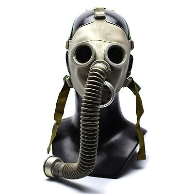Soviet russian Military Gas mask PDF. Gas mask + hose.