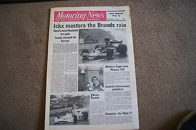 Motoring News 21 March 1974 F1 Race of Champions F5000 California 500 USAC