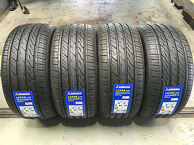 X4  235 40 18 97W Xl New Landsail Tyres, Amazing B,b  Ratings Cheapest On Ebay!!