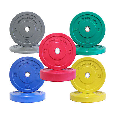 FITEK V2 Color Olympic Bumper Plates, Cheapest Postage