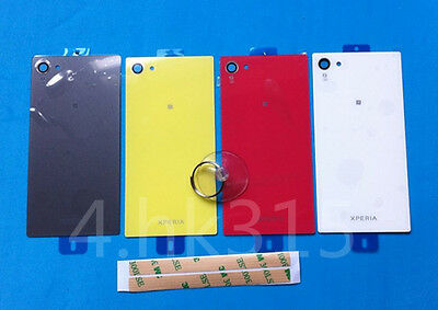 For Sony Xperia Z5 Compact Mini E5803 Back Door Battery Glass Rear Cover Case