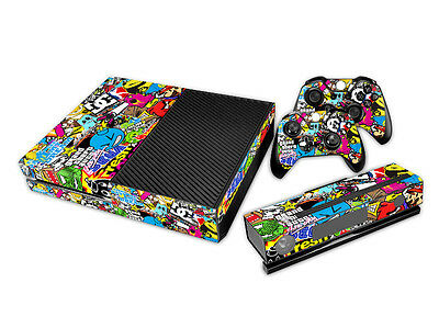 Cool Bomb Full body Decal Skin Sticker For Microsoft Xbox one Console Decorate