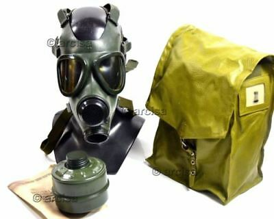 Romania gas mask military/civilian M-74 M74 green tactical SOF gas mask NEW.