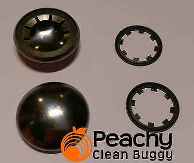 Hub Cap & Starlock DOUBLE SET To fit Bugaboo Cameleon, Frog and Gecko Chassis