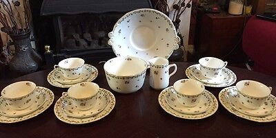 Stunning Adderley 21Pc Teaset In The Parma Pattern Made For Harrods