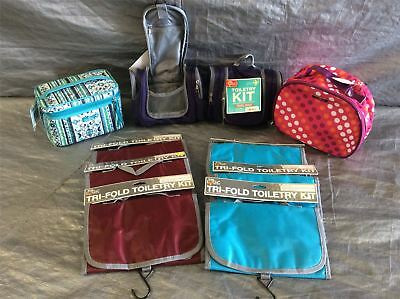 Wholesale Lot of Assorted Toiletry Kits, Kaboddles And More, Lot of 16