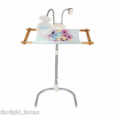 Stitchsmart Stand Plus Magnifing Lamp and Chartholder