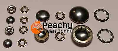 Hub Cap & Starlocks Bugaboo Cameleon, Frog and Gecko Full Set - Chassis & wheels