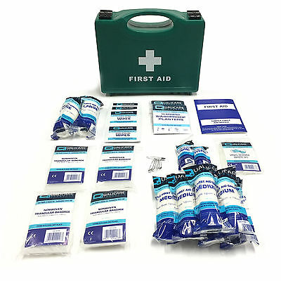 10 Person Medical Emergency Workshop Home Hse Approved Quality First Aid Kit