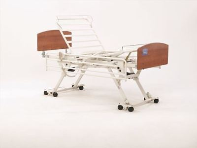 Invacare CS7- Hi-Lo Electric Bed-Single-Hospital Bed-Electric Bed with Head &...