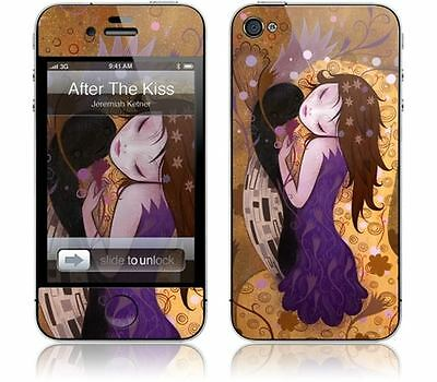 Gelaskins Protective Vinyl Skin for iPhone 4 & 4S - After the Kiss
