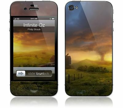 Gelaskins Protective Vinyl Skin for iPhone 4 & 4S - Infinite Oz