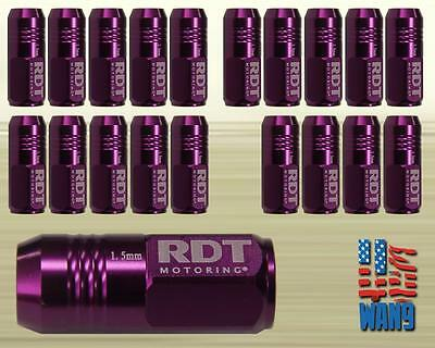 Purple M12x1.5 Alum. Closed-End 50mm Racing Wheel Lug Nut for Toyota Lexus Scion