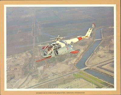 Lockheed XH-51A Rigid Rotor Helicopter Print Aviation Print 11 x 14 Frameable