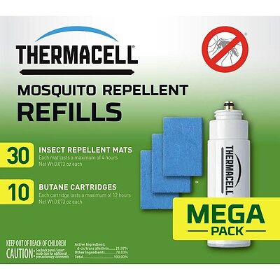 NEW Thermacell Mega Pack Refill R-10