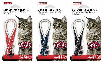 2 x Beaphar Cat Flea Collar Sparkle CG17788