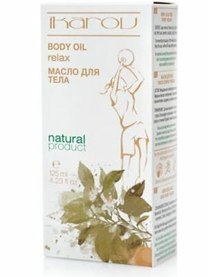 100% NATURAL Massage Body Oil after Sport Relax 125ml Pure Essential Oil Ikarov