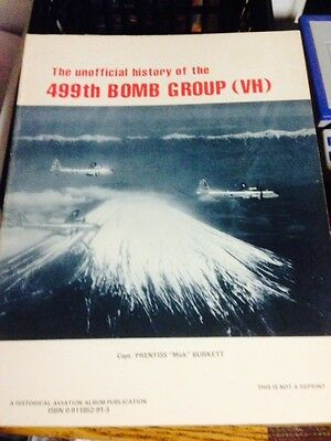 499th BOMB GROUP (VH)  BOOK UNOFFICIAL HISTORY