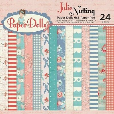 Photo Play Paper - Julie Nutting Paper Dolls - 6 x 6 Paper Pad