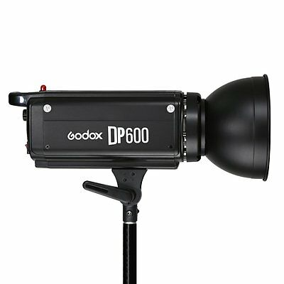 Godox DP600 600W 600Ws Studio Strobe Flash Light Photograph Monolight with Bulb