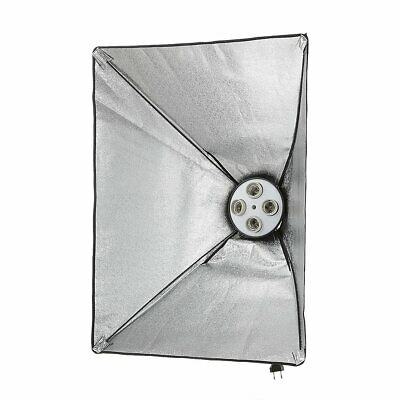 Photo Studio Kit Lighting Softbox 50*70cm + 4in1 E27 Socket Lamp Head Holder Kit